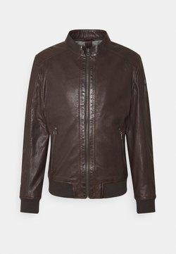 Gipsy - GRAHAN  - Leren jas - brown