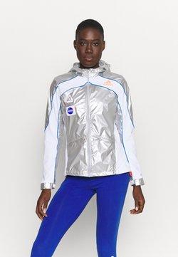 adidas Performance - SPACE - Chaqueta de deporte - silver/white