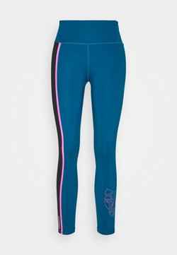 Puma - TRAIN HIGH RISE 7/8 - Tights - digi blue