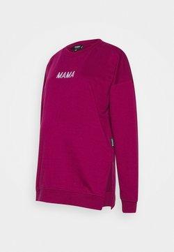 Missguided Maternity - MAMA - Sweatshirt - raspberry