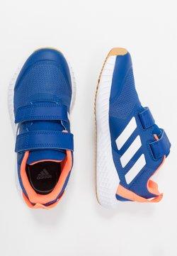 adidas Performance - FORTAGYM RUNNING SHOES - Juoksukenkä/neutraalit - collegiate royal/footwear white/solar orange