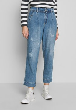 Cream - SAMANDACR - Relaxed fit jeans - light blue denim