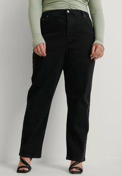 NA-KD - Straight leg -farkut - black