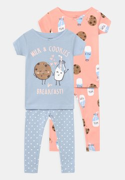 Carter's - COOKIES 2 PACK - Nachtwäsche Set - light blue/light pink