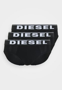 Diesel - BRIEF 3 PACK - Slip - black