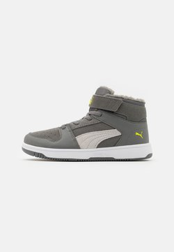 Puma - REBOUND LAYUP  - Sneaker high - ultra gray/gray violet/limepunch/white