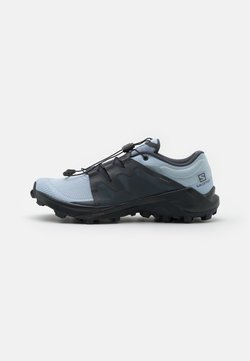 Salomon - WILDCROSS  - Zapatillas de trail running - kentucky blue/ebony