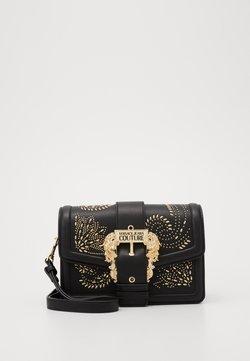 Versace Jeans Couture - SHOULDER BAG COUTURE STUDS - Käsilaukku - nero
