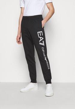 EA7 Emporio Armani - Jogginghose - black/white