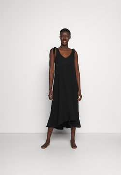 Seafolly - BEACH EDIT ESPLANADE SLIP DRESS - Accessoire de plage - black