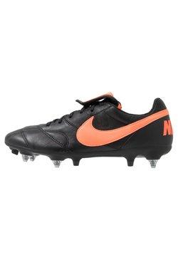 Nike Performance - THE PREMIER II SG-PRO AC - Chaussures de foot à lamelles - black/hyper crimson