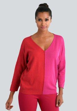 Alba Moda - Strickpullover - rot,pink