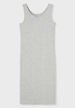 LMTD - Strickkleid - light grey melange
