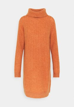 YAS - YASCAMPUS DRESS - Robe pull - auburn