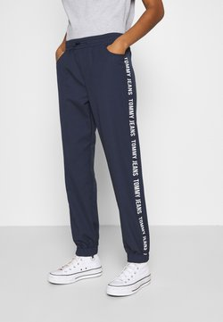 Tommy Jeans - JOGGER TAPE RELAXED - Jogginghose - twilight navy