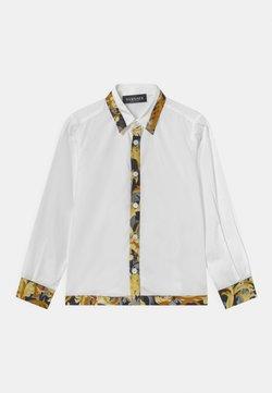 Versace - INFORMAL BAROCCO FLAGE - Vapaa-ajan kauluspaita - bianco/oro