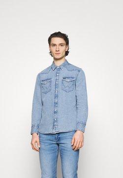 Wrangler - Overhemd - light-blue denim