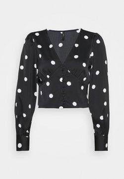 YAS - YASDILARA - Bluse - black/white