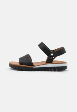 Paul Green - Riemensandalette - mini braid/city black