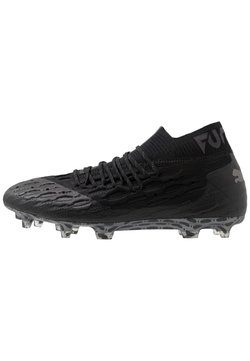 Puma - FUTURE 5.1 NETFIT FG/AG - Moulded stud football boots - black/asphalt