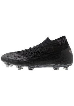 Puma - FUTURE 5.1 NETFIT FG/AG - Moulded stud football boots - black/asphalt