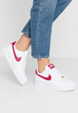 Nike Sportswear - AIR FORCE 1 - Sneaker low - white/noble red