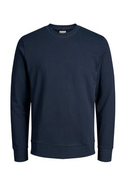 Jack & Jones - JJEHOLMEN CREW NECK - Sweatshirt - dark-blue denim