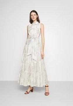 Lauren Ralph Lauren - PUJA SLEEVELESS DAY DRESS - Maxikleid - white/silver