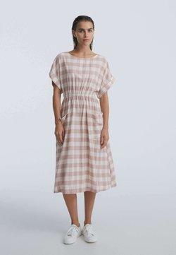 OYSHO - GINGHAM - Sukienka letnia - light pink