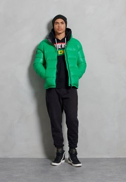 Superdry - LUXE ALPINE  - Untuvatakki - bright green