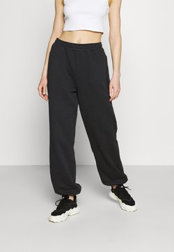 NA-KD - NA-KD X ZALANDO EXCLUSIVE - LOOSE FIT PANTS - Jogginghose - black