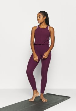 Nike Performance - YOGA - Mono deportivo - night maroon