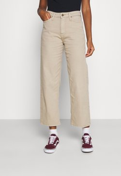 Lee - WIDE LEG - Relaxed fit jeans - service sand