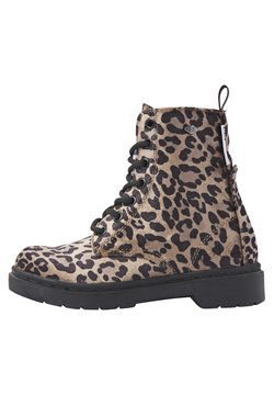 British Knights - Stiefelette - brown leopard