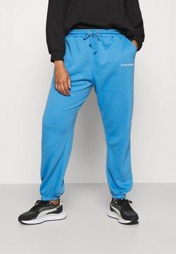 Missguided Plus - JOGGER - Jogginghose - blue