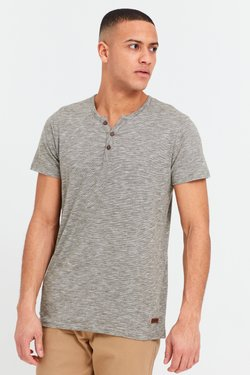 Solid - RUNDHALSSHIRT SIGOS - T-Shirt basic - dusty olive