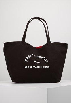 KARL LAGERFELD - RUE ST GUILLAUME TOTE - Shopping bag - black
