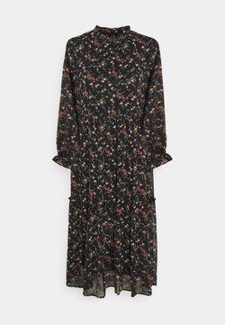 Vero Moda - VMSYLVIA CALF DRESS - Freizeitkleid - black/rose