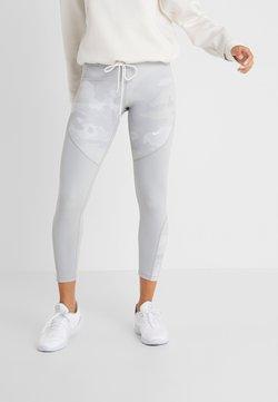 Nike Performance - REBEL 7/8 CAMO - Tights - wolf grey/white