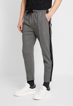 Calvin Klein Jeans - SIDE STRIPE JOGGER - Jogginghose - grey heather