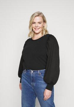Pieces Curve - PCMERVE - Sweatshirt - black