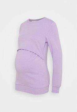 Anna Field MAMA - Sweatshirt - lilac