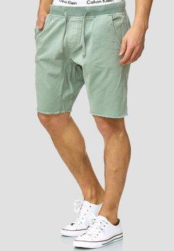 INDICODE JEANS - CARVER - Jeans Shorts - blue surf