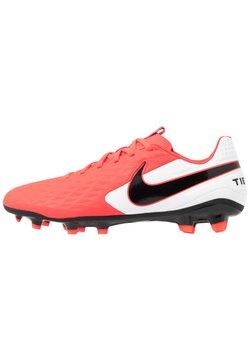 Nike Performance - TIEMPO LEGEND 8 ACADEMY MG - Fotbollsskor fasta dobbar - laser crimson/black/white