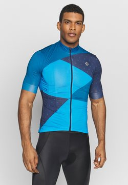 Triple2 - VELOZIP MEN - T-Shirt print - mykonos blue