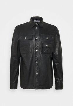 Diesel - L-MALIK JACKET - Leather jacket - black