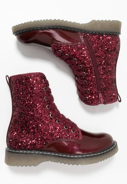 Friboo - Bottines à lacets - bordeaux