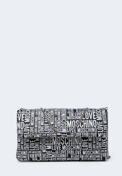 Love Moschino - STAMPA MULTILOGO - Borsa a tracolla - black