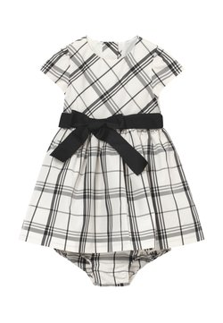 Polo Ralph Lauren - PLAID BABY  - Juhlamekko - cream/black