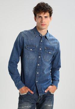 Lee - WESTERN SLIM FIT - Shirt - blue stance